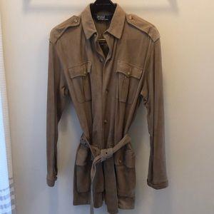 Ralph Lauren Brown Suede safari jacket